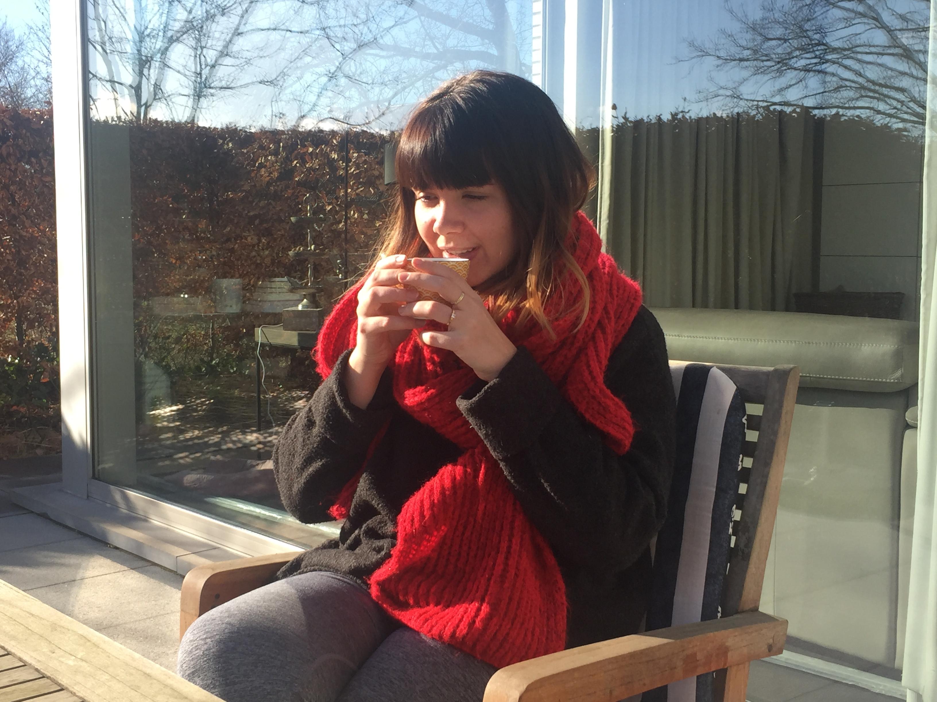 stress de baas genieten koffiepauze thee