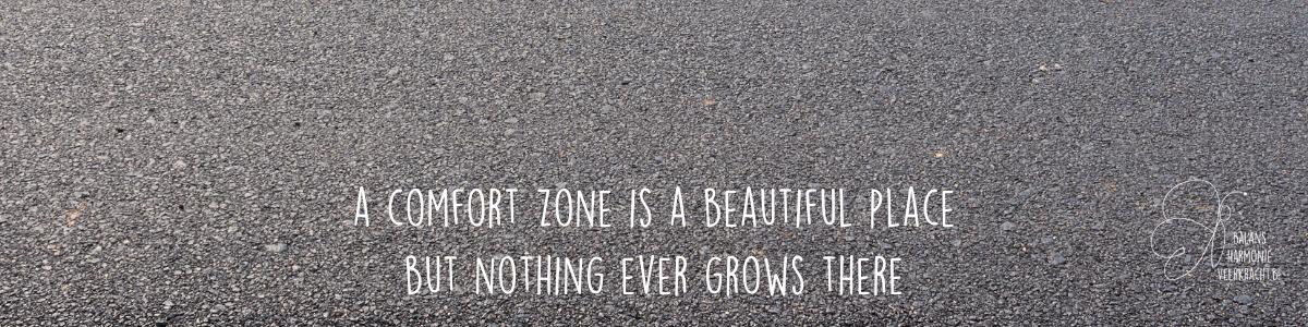 comfort zone persoonlijke groei